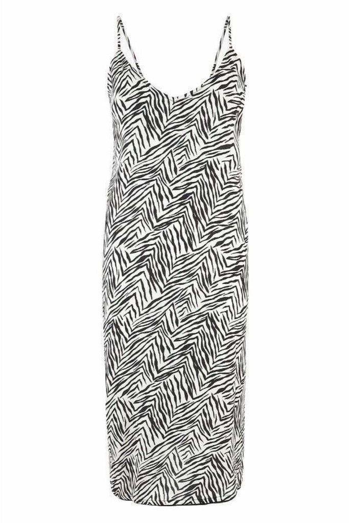 Zebra Print Night Dress Chemise