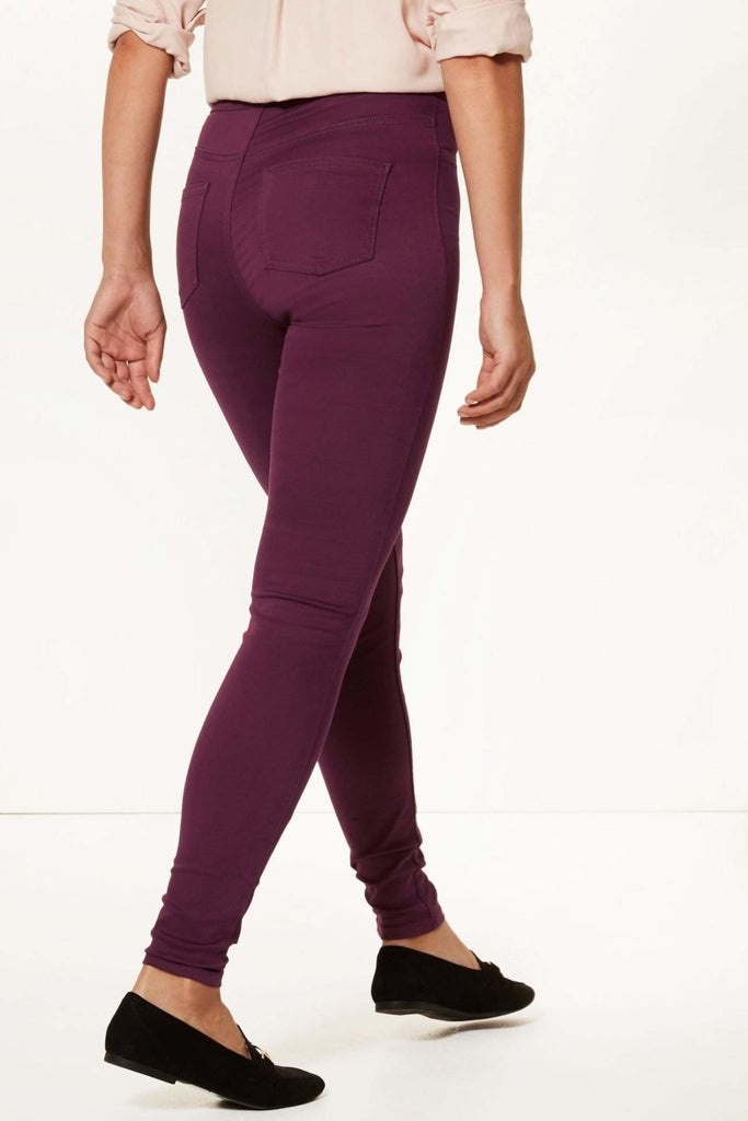 High Waist Skinny Jeggings