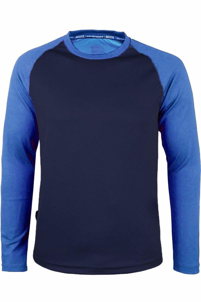 Two Tone Long Sleeve Active Top