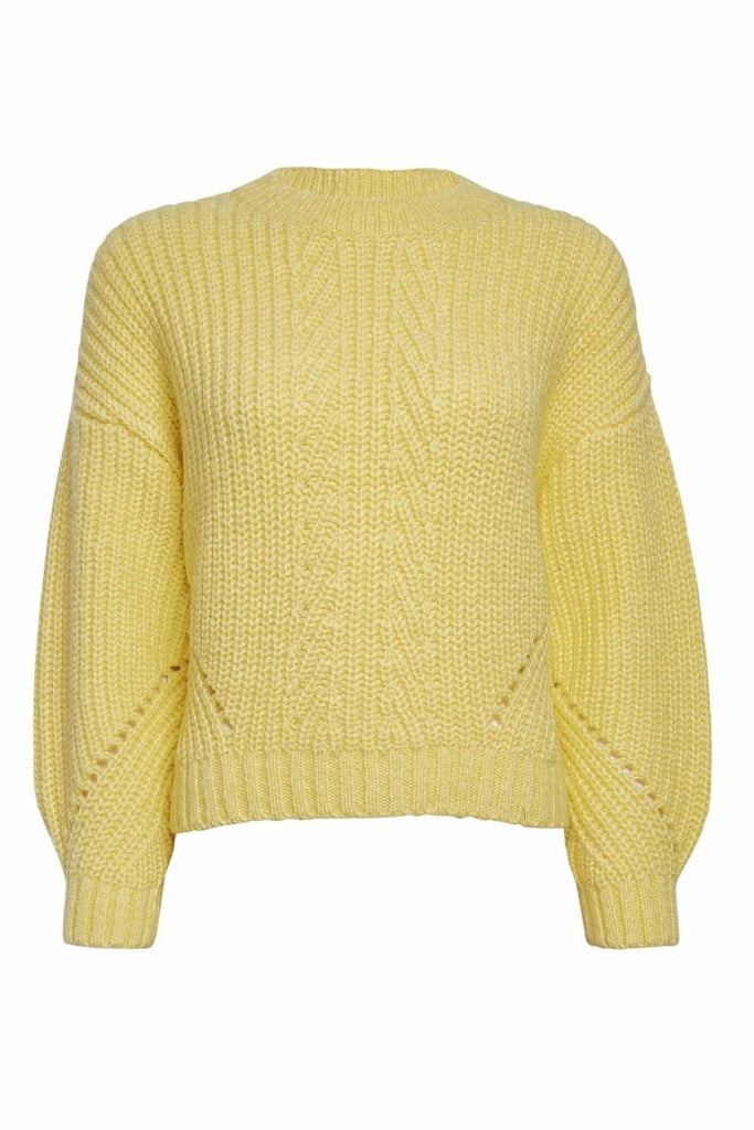 Pointelle Stitch Jumper