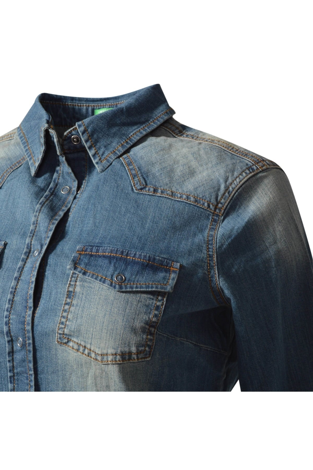 Benetton Benetton Vintage Denim Shirt | Secret Label