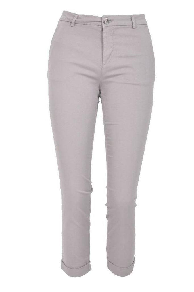 Cropped Chino Trousers