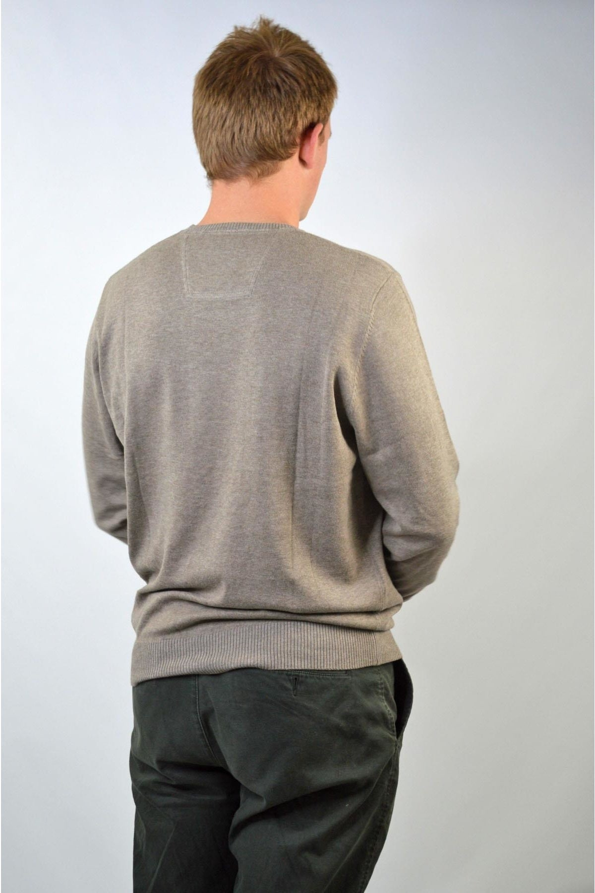 Pierre Cardin Cotton Round Neck Jumper | Secret Label