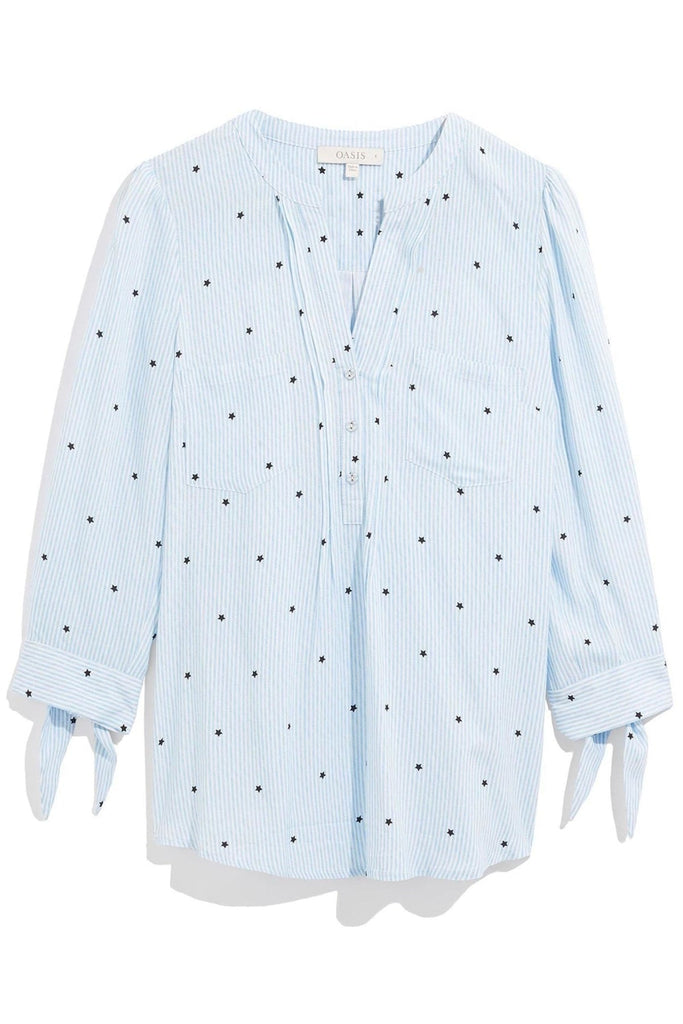 Blue Star Blouse