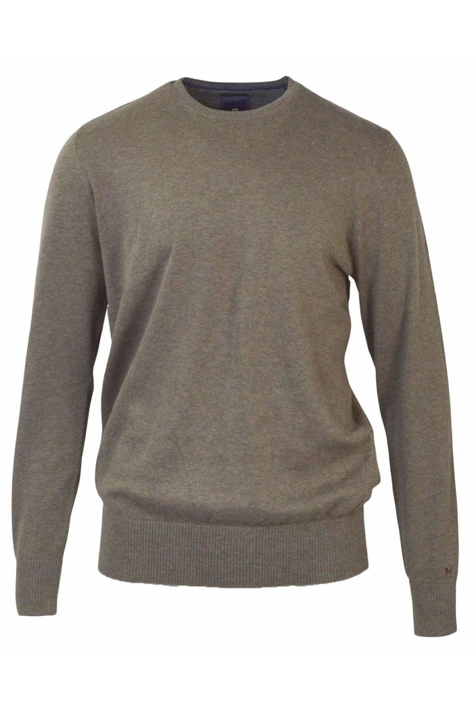 Cotton Round Neck Jumper