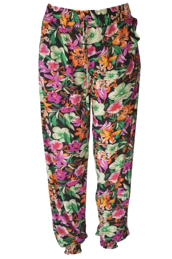 Secret Label Baggy Print Elasticated bottom Trousers