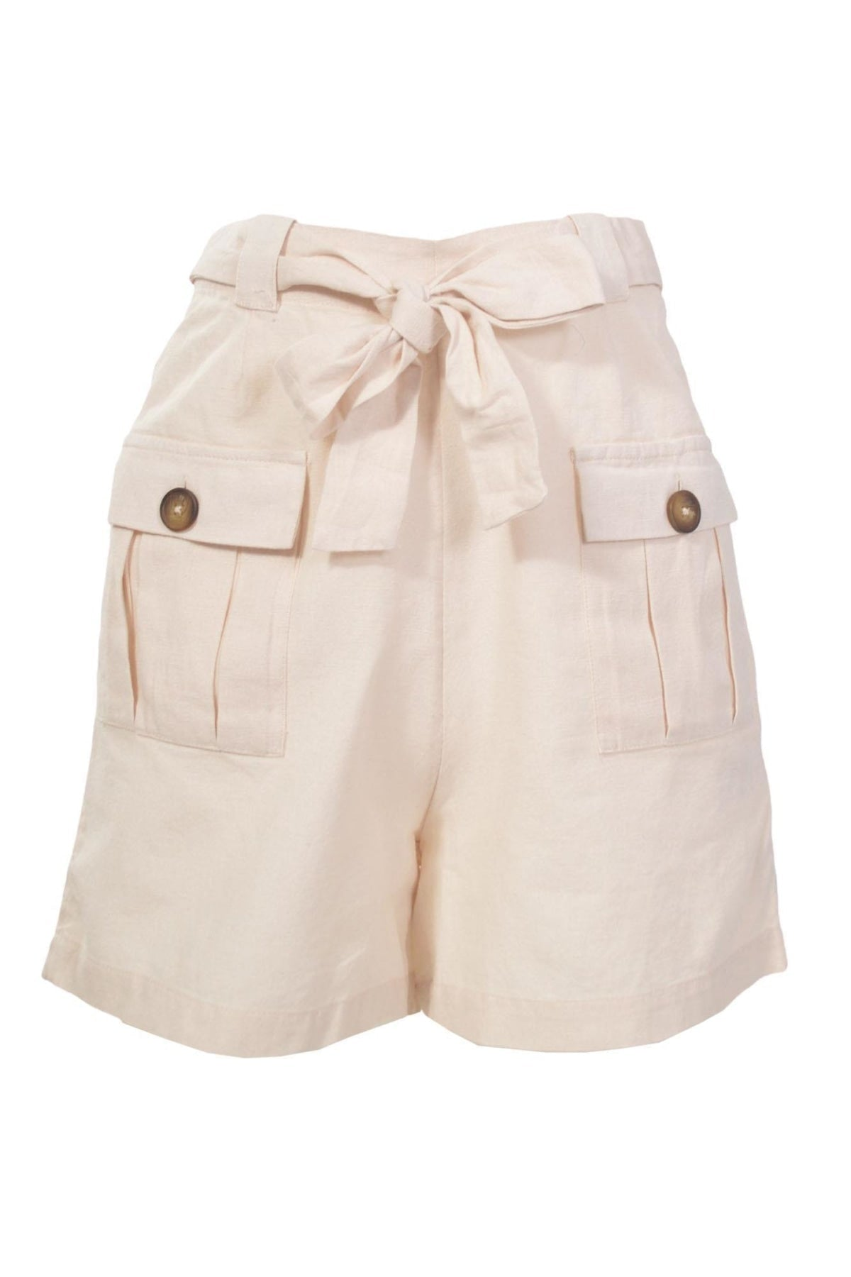 Warehouse Safari Shorts | 14 / Beige Secret Label
