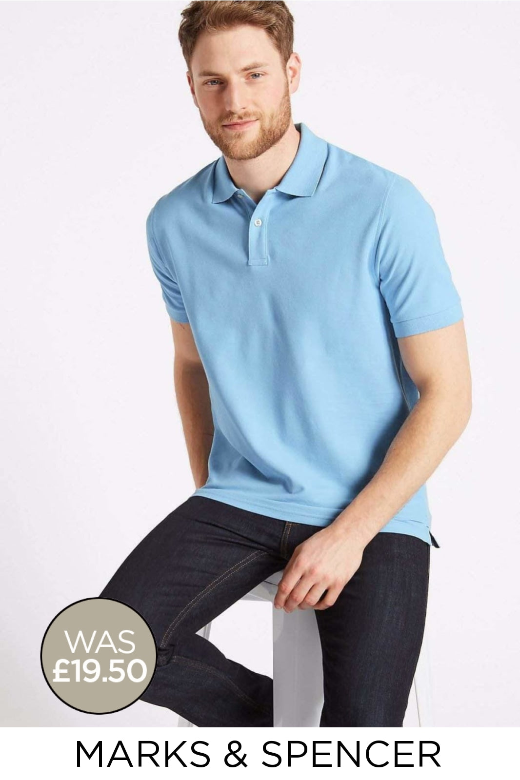 Marks & Spencer Ex M&S Classic Polo Shirt | Secret Label