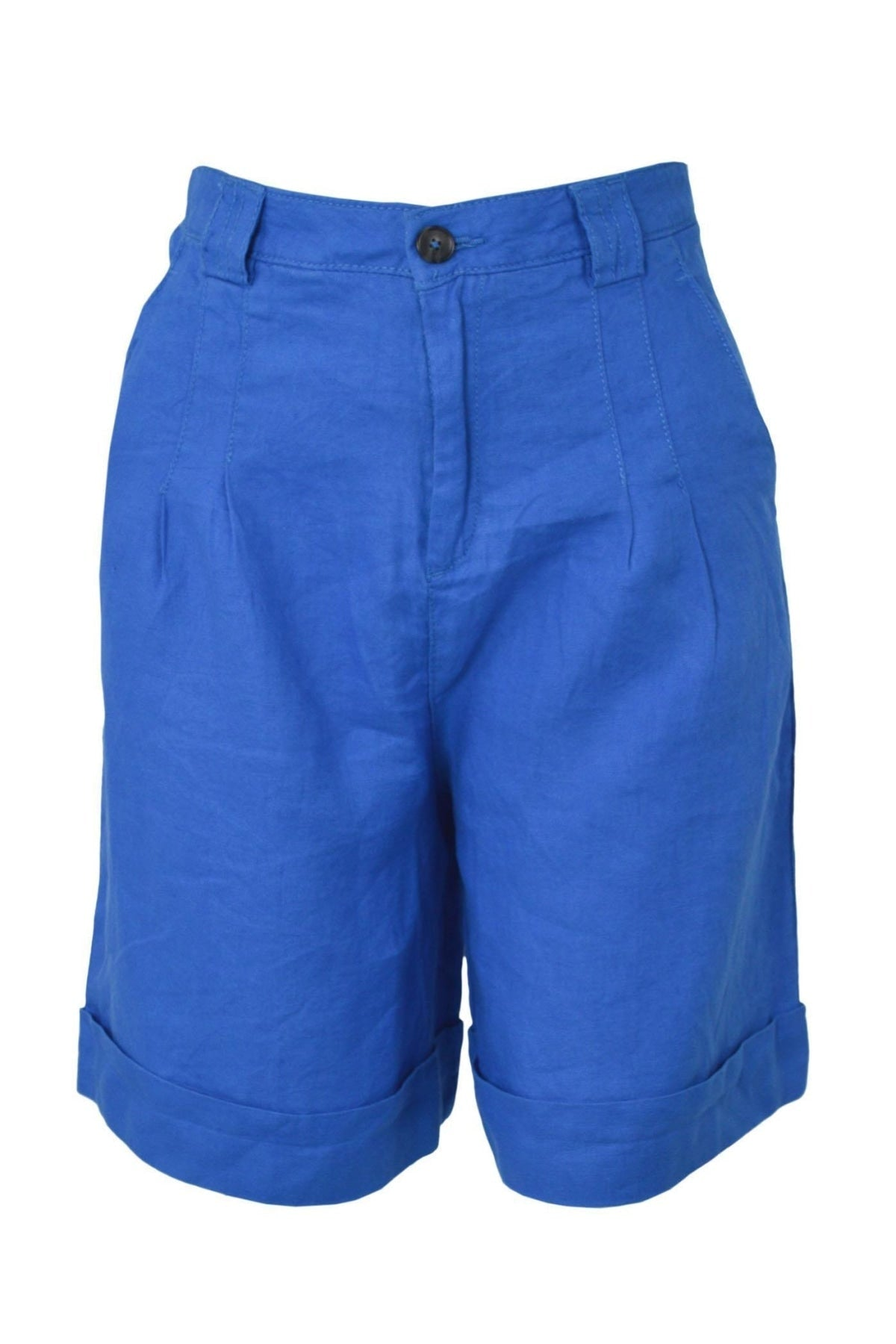 United Colors Of Benetton Cotton Bermuda Shorts | 12 / Royal Blue Secret Label