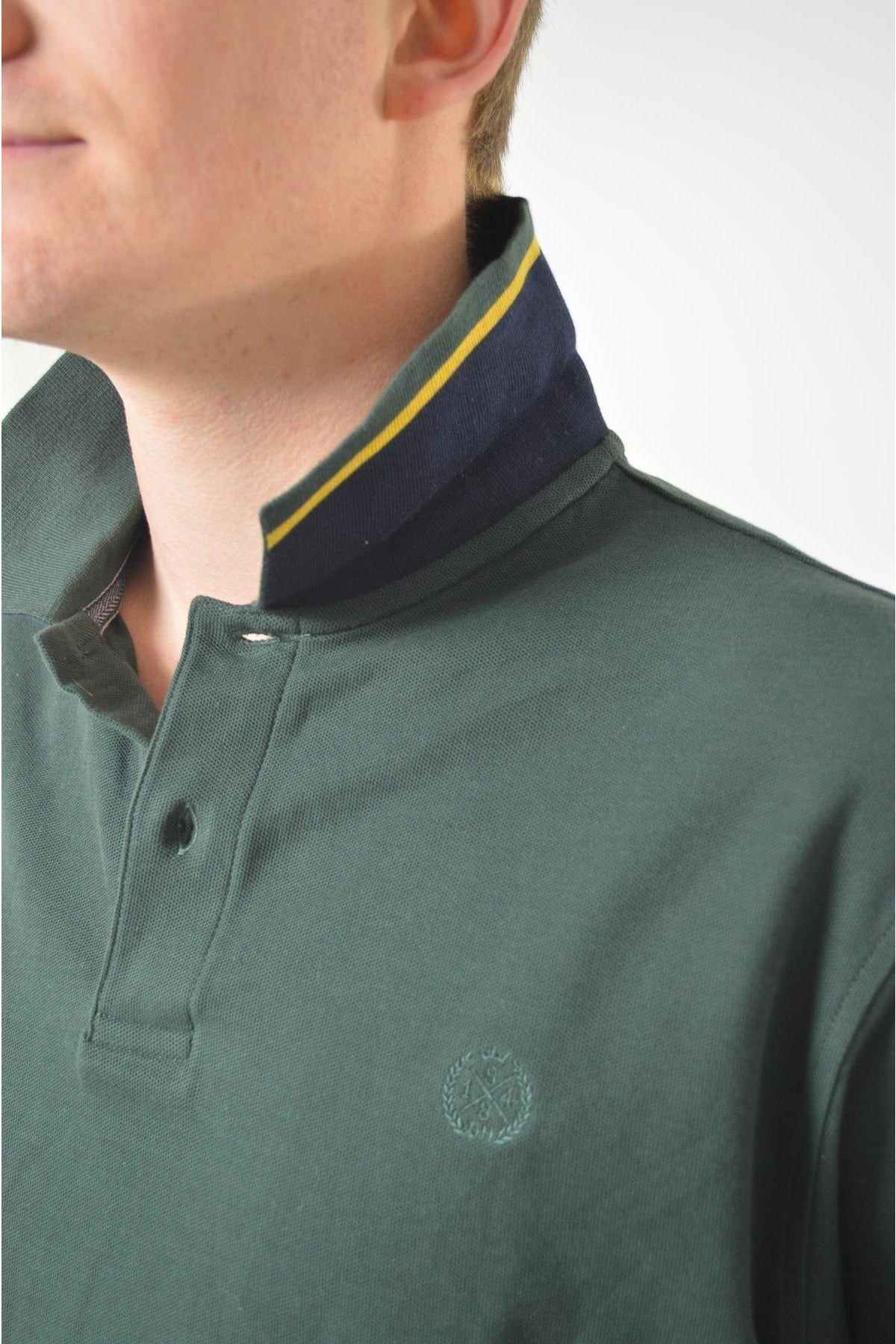 Marks & Spencer Ex M&S Cotton Pique Polo Shirt | Secret Label