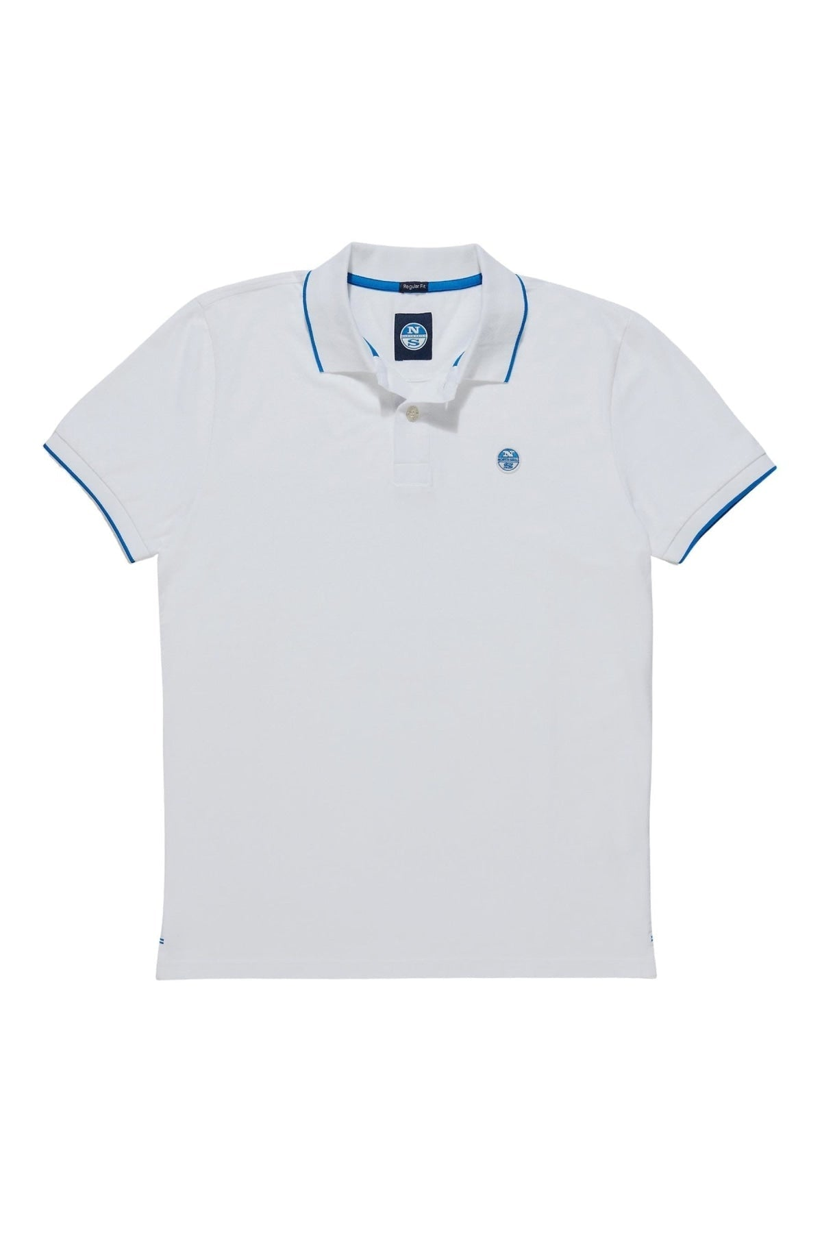 North Sails North Sails Cotton Pique Polo Shirt | L / White / Legacy Secret Label