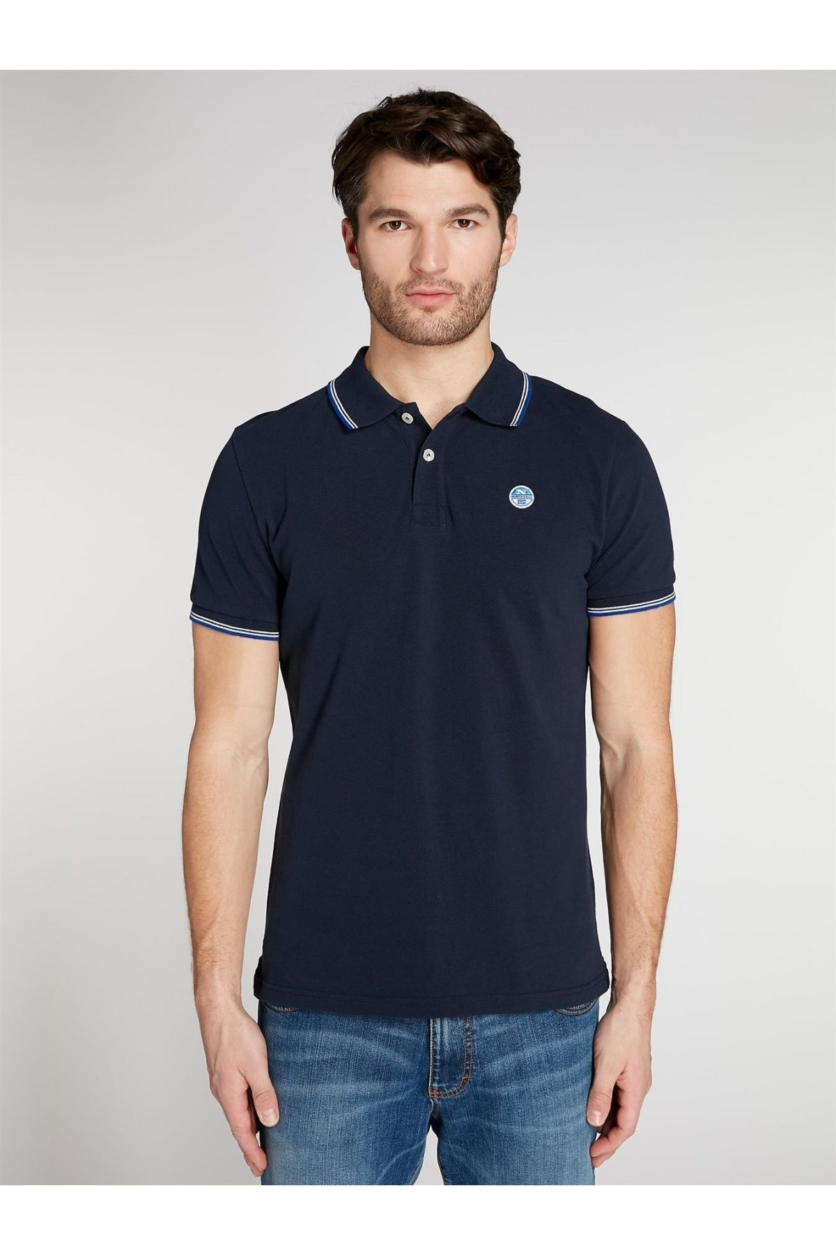 North Sails North Sails Cotton Pique Polo Shirt | Secret Label