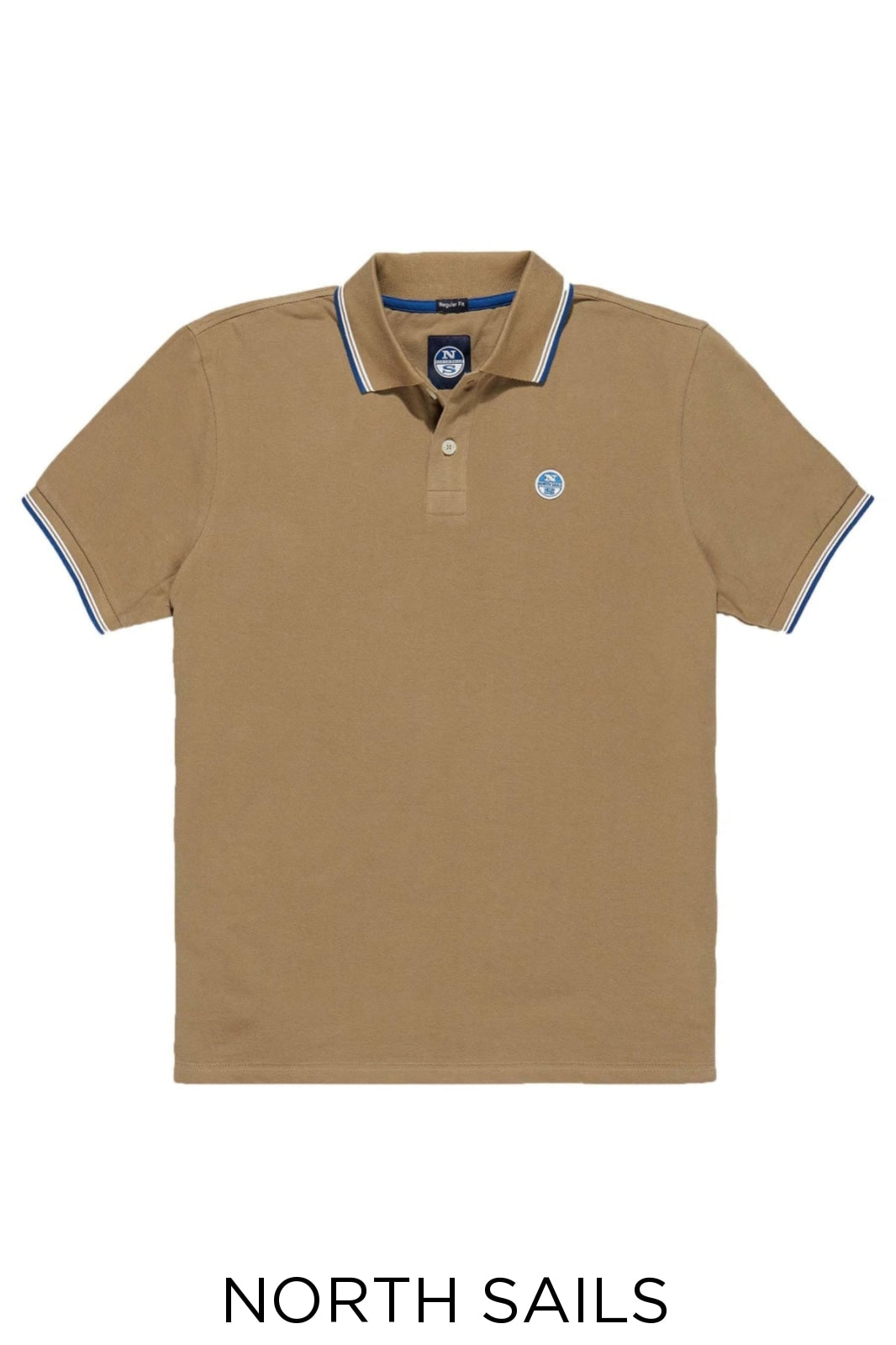 North Sails North Sails Cotton Pique Polo Shirt | S / Orange / Legacy Secret Label