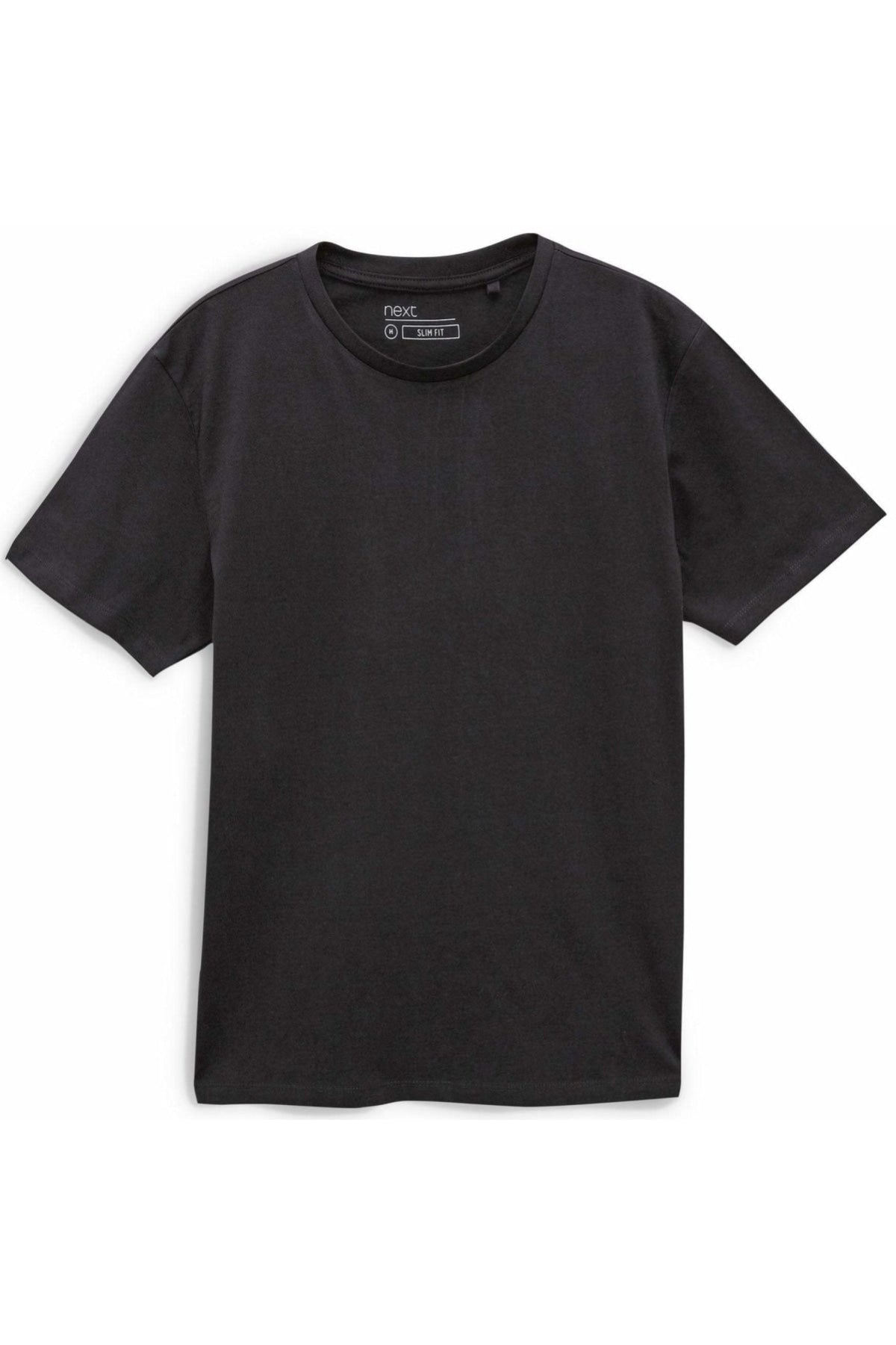 Next Ex Next Crew Neck Slim Fit T-Shirt | XS / Black Secret Label