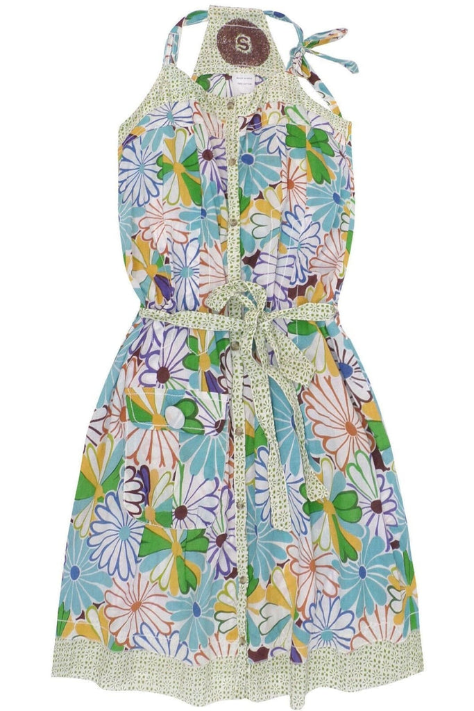 Floral Cotton Summer Dress