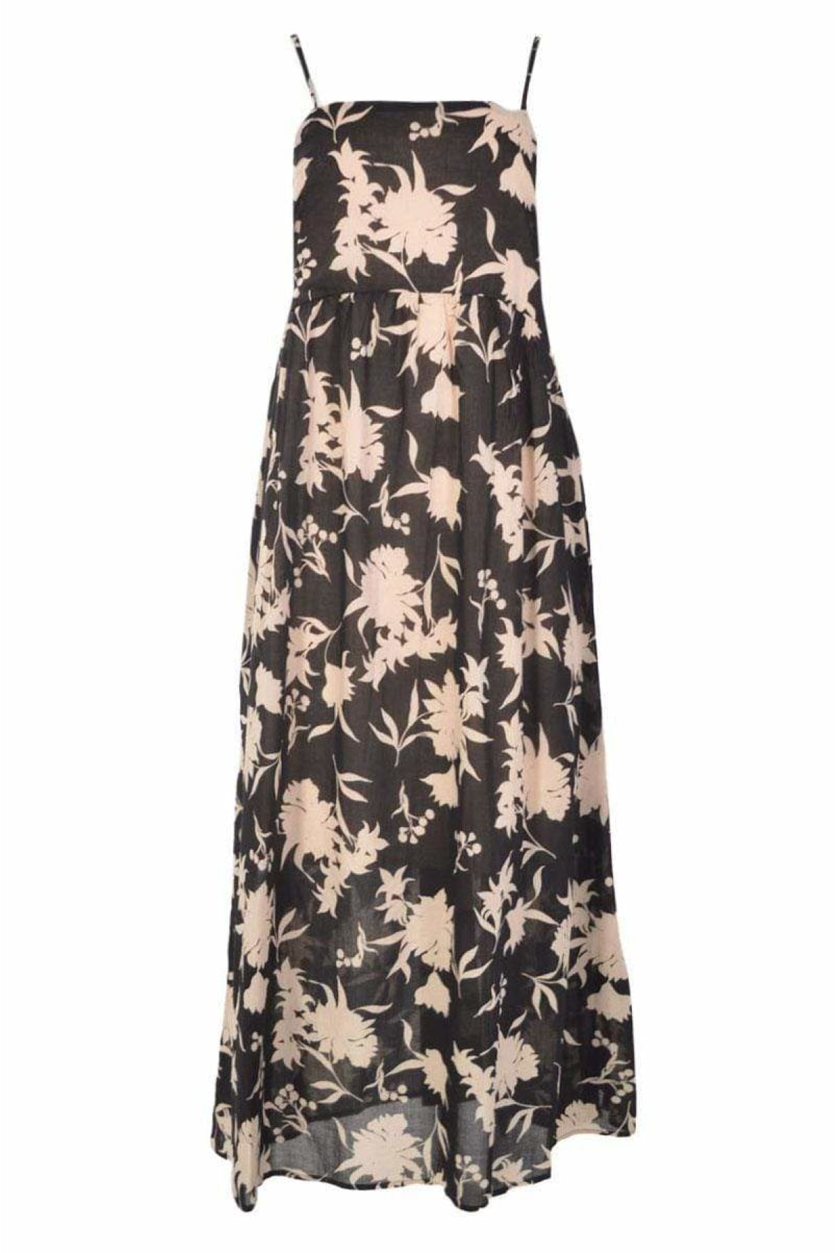 Warehouse Ex Warehouse Black Floral Print Cami Dress | Secret Label