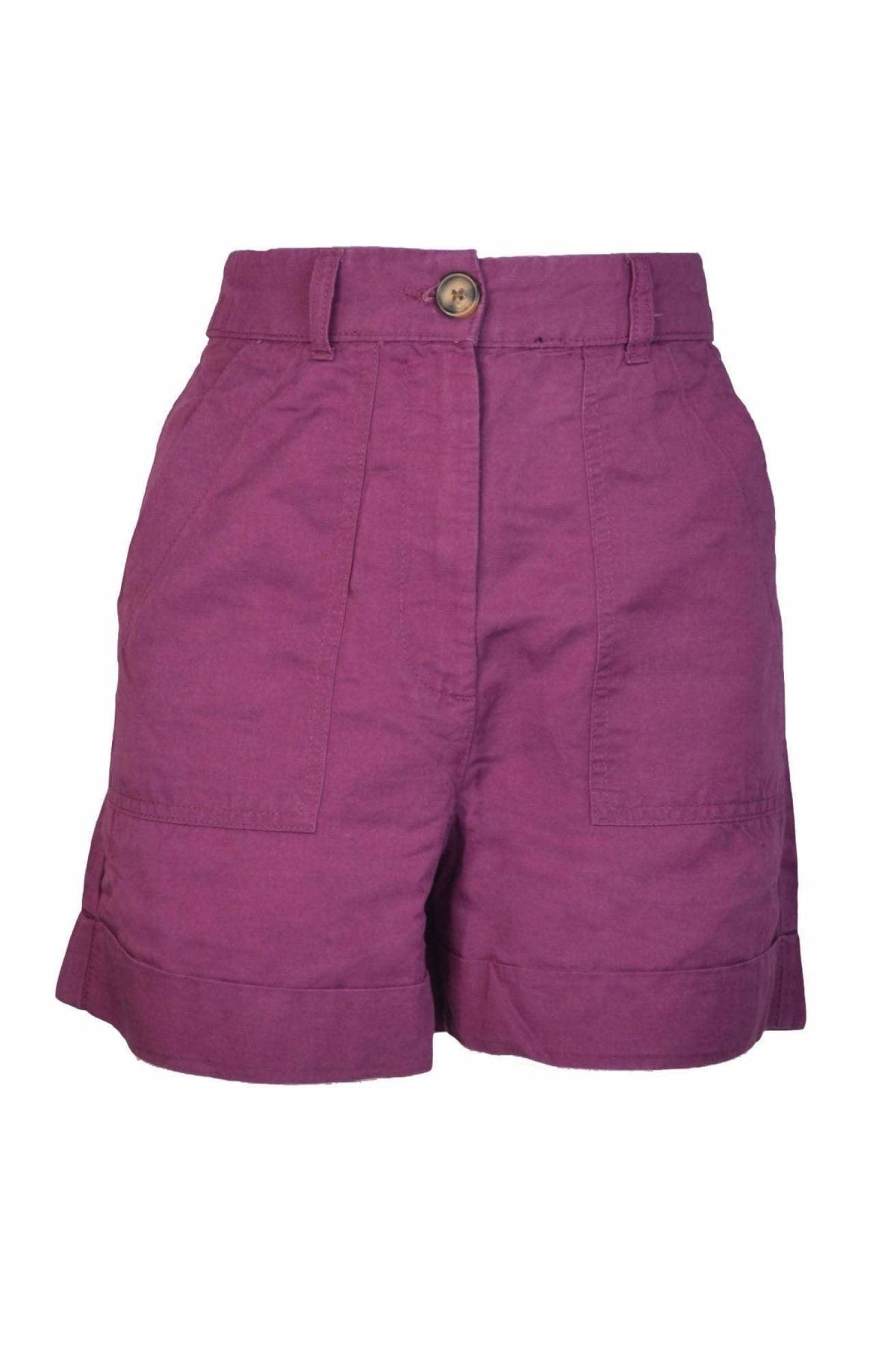 Marks & Spencer Ex M&S Womens Linen Blend Summer Shorts | Secret Label