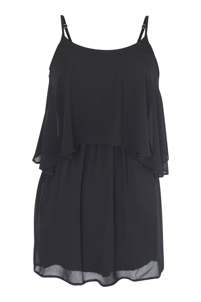 Chiffon Layered Strappy Dress
