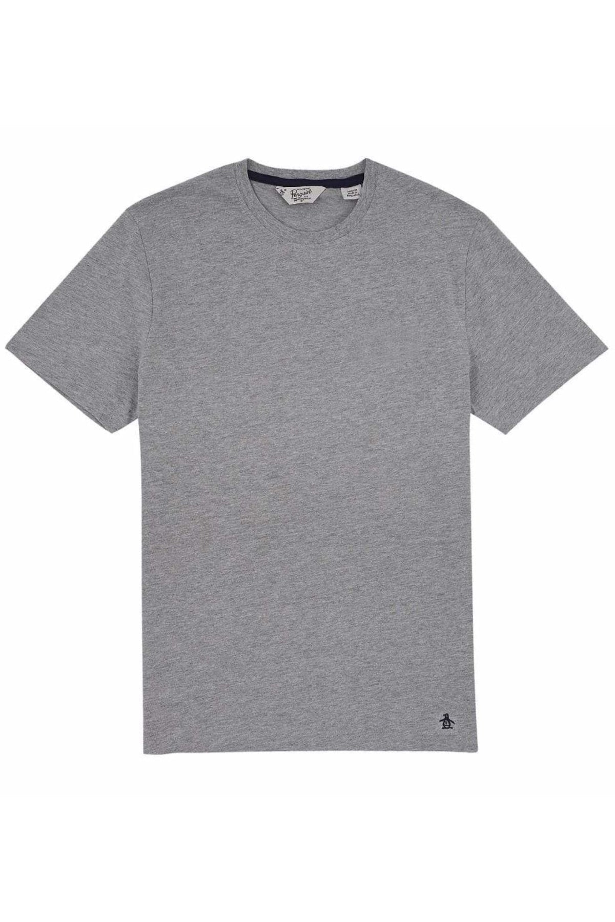 Penguin Original Pinpoint T-Shirts | L / Grey Secret Label
