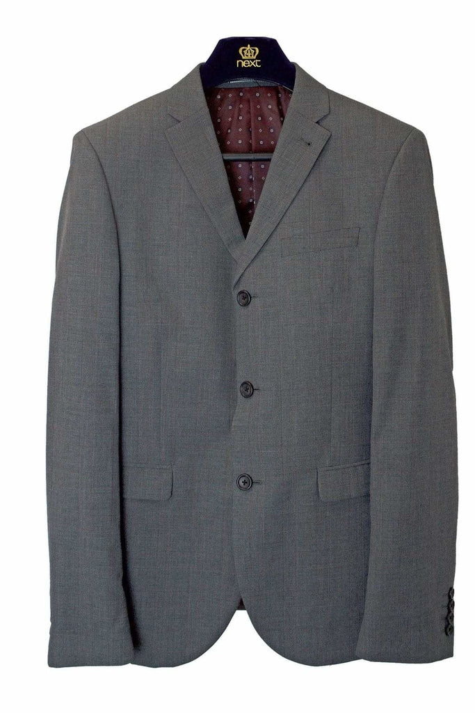Next Grey Check Jacket