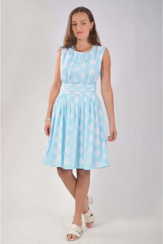 Polka Dot Tea Dress