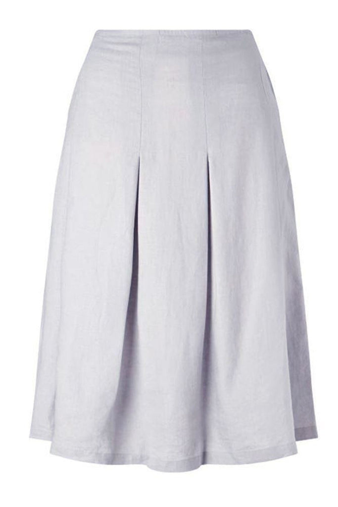 John Lewis Linen Box Pleat Skirt