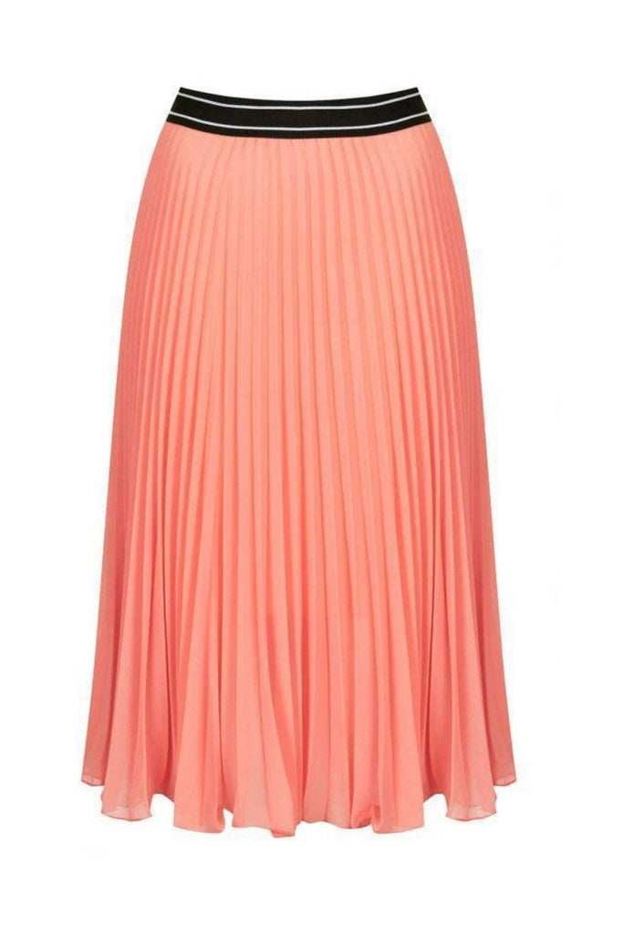 Topshop Pleated Floaty Summer Skirt