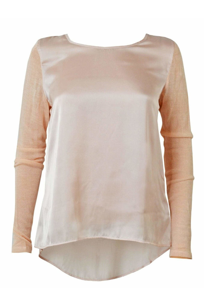 C&A Satin Knit Sleeve Top