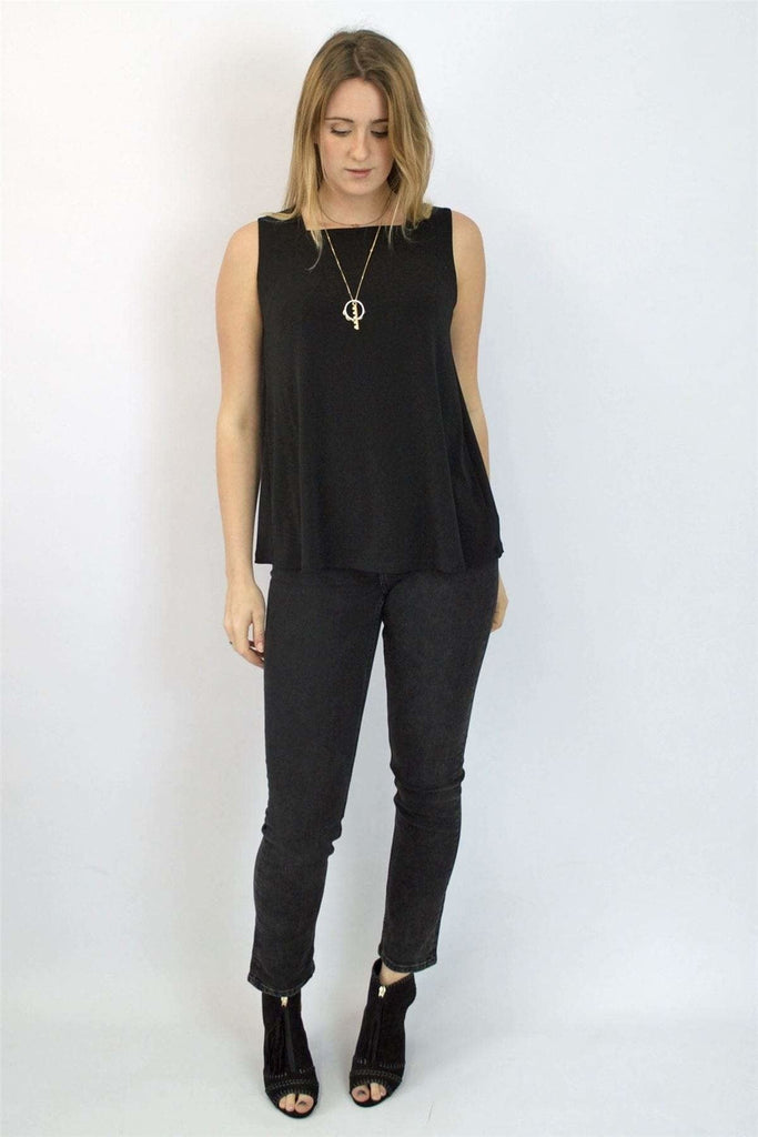 Next Sleeveless Square Neck Swing Top
