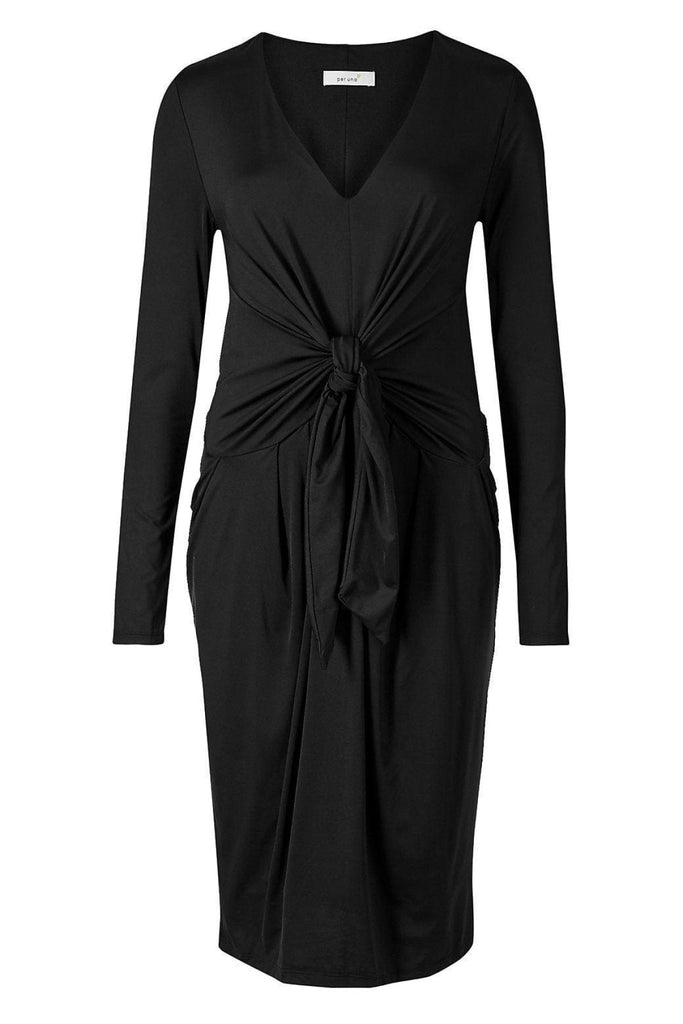 Marks & Spencer Tie Front Jersey Dress