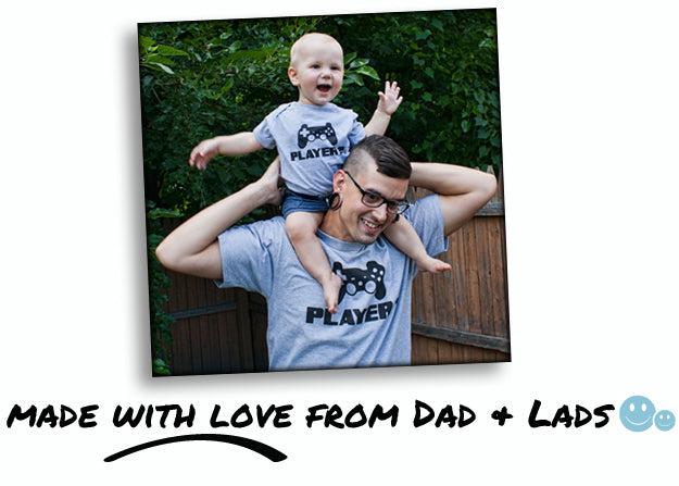 Made With Love From Dad & Lads™