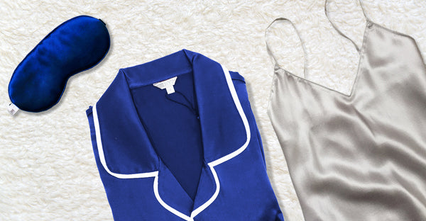 Why Choose Silk Sleepwear? Silk vs. Cotton & Flannel Pajamas