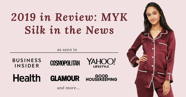 2019 in Review: MYK Silk in the News