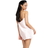 MYK Silk-Silk Mini Slip Dress (22 Momme)