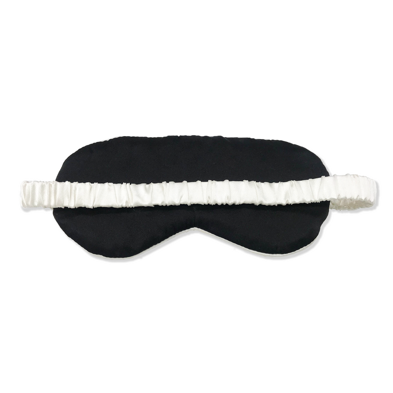Luxury Silk Eye Mask with Silk-Covered Elastic Band (25 momme) - MYK Silk