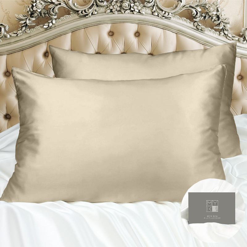 Limited Edition Mulberry Silk Pillowcase (30 momme), Queen Size - MYK Silk