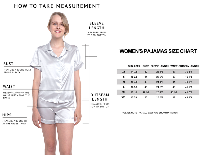 MYK Silk-Silk Short Pajama Set (22 Momme)