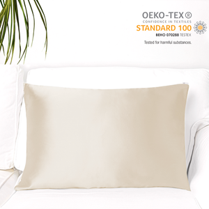 MYK Silk-Natural Mulberry Silk Pillowcase (19 Momme), King Size