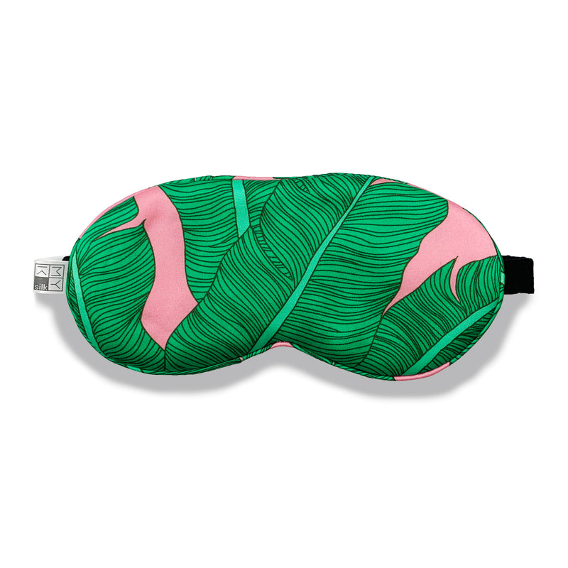 MYK Silk-Beauty Silk Eye Mask with Velvet Band