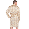 MYK Silk-Men Classic Silk Robe