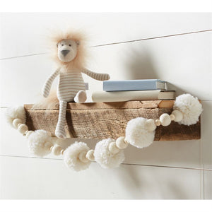 Large Sweater Knit Lion Plush : Mud Pie Baby