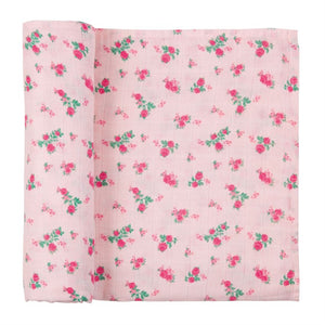 Rosie Muslin Swaddle : Mud Pie Baby