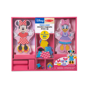Melissa & Doug: Disney Minnie & Daisy Wooden Magnetic Dress-Up Item # 5783