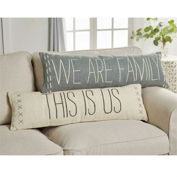 Mudpie : Family Long Pillows