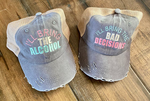 Alcohol & Bad Decision Hats