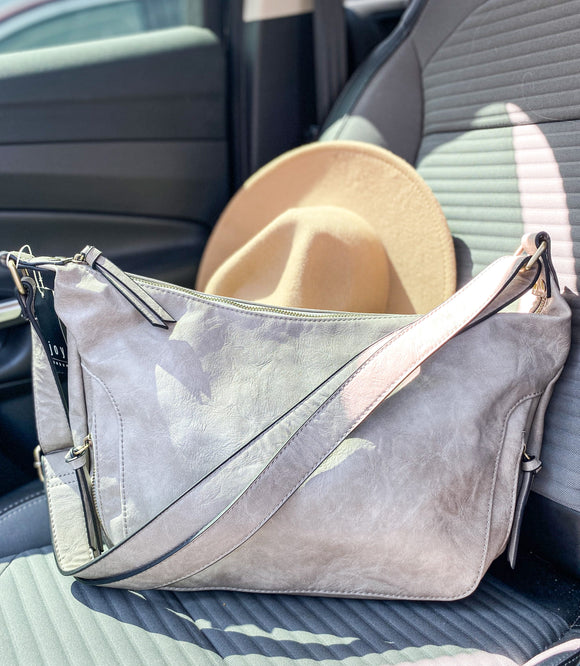 Dove Grey Vintage Hobo bag