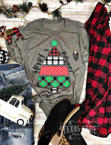 Merry & Bright Tee LONG SLEEVE