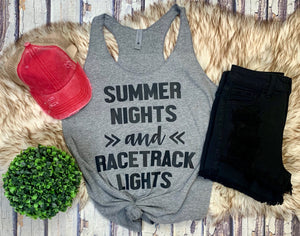 Racetrack Lights Tank