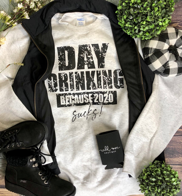 Day Drinking Crewneck