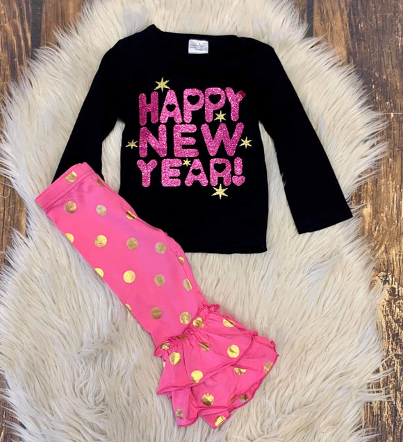 Happy New Year Ruffle Outfit : RE